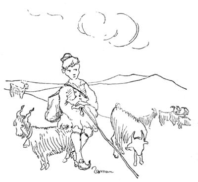bbbce9a833c Σχέδιο του Ζαχαρία Παπαντωνίου για Τα Ψηλά Βουνά (κεφάλαιο 27).