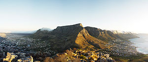 Peninsula Sandstone Fynbos - Peninsula Sandstone Fynbos is restricted to Table Mountain and the Cape Peninsula.