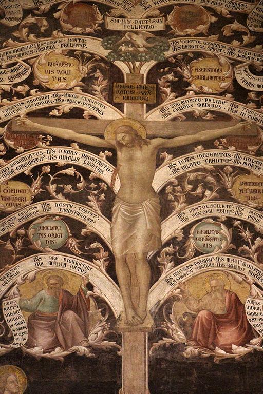 Taddeo Gaddi, Albero della Vita, (1336-1366 circa), Basilica di Santa Croce, Firenze