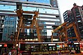 Taipei Metro Xinyi Line construction site and Capital Bus 310-FG in front of HeySong Commercial Building 20100721.jpg