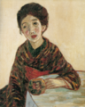 TakehisaYumeji-1915-Woman in Cafe(Unfinished).png
