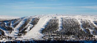 Scandinavian Mountains Airport - Tandådalen ski pistes