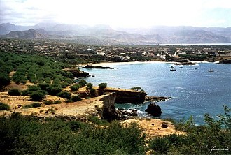 Tarrafal, Cape Verde (municipality) - General view of the town and the bay