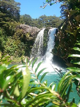Tongariro National Park - Tawhai Falls, Jan 2014