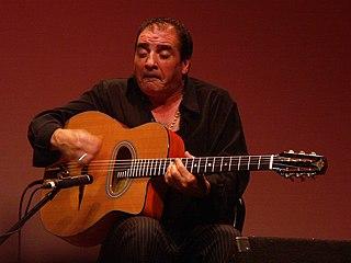 Romani guitarist