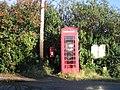 Telephone and Postbox in Dunbridge - geograph.org.uk - 617060.jpg