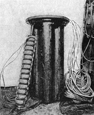 Loading coil - Image: Telephone loading coils 1922