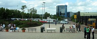 New towns in the United Kingdom - The town of Telford (formerly Dawley New Town) was created from a number of smaller towns which were joined together around a central service area.