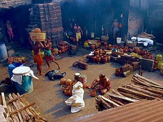 Mahaprasad (Jagannath Temple) - Temple Temple Kitchen of Ananta Basudeba Temple, Bhubaneswar