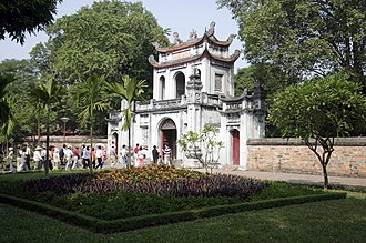 Temple of Literature, Hanoi - The main gate to the temple