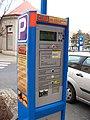 Teplice, Benešovo náměstí, parkovací automat (01).jpg