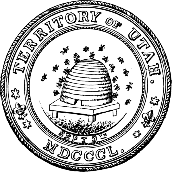 Файл:Territorial Seal of Utah BHoU-p460.png