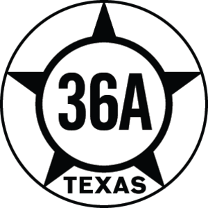 Texas State Highway 36 - Image: Texas Hist SH36A