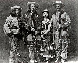 Texas Jack Omohundro - Ned Buntline, Buffalo Bill Cody, Giuseppina Morlacchi, Texas Jack Omohundro