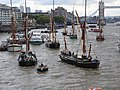 Thames barge parade - in the Pool 6740.JPG