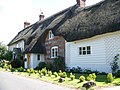 Thatched cottages, Fontmell Magna - geograph.org.uk - 906922.jpg