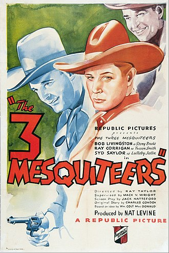 The Three Mesquiteers (film) - Theatrical release poster