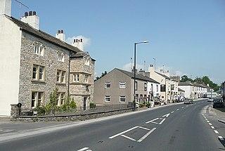 Gisburn Human settlement in England