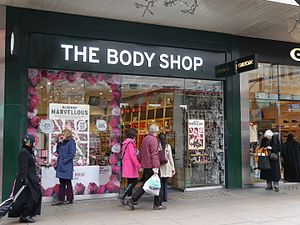 The Body Shop, Oxford Street, London, March 2016 01.jpg