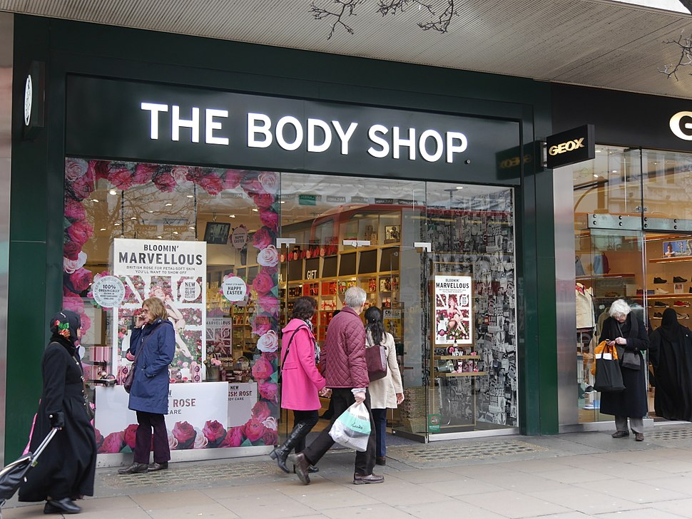 The Body Shop, Oxford Street, London, March 2016 01