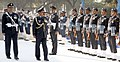 The Chairman Chief of the Staff Committee and Chief of the Air Staff, Air Chief Marshal Arup Raha inspecting the guard of honour, during his farewell visit to HQ Western Air Command, in New Delhi on December 20, 2016.jpg