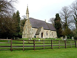 Dalby, Lincolnshire - Image: The Church of St Lawrence and Bishop Edward King, Dalby geograph.org.uk 776262