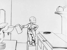 File:The Extra Quick Lunch 1918 Mutt and Jeff cartoon Charles R Bowers Bud Fisher.webm