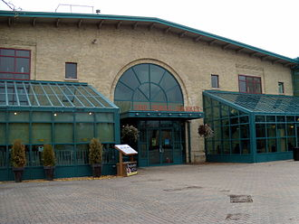 The Forks, Winnipeg - Entrance to The Forks Market