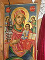 The Holy Mother with Jesus as a child an icon in the church of St Nicholas in Mramorec.jpg