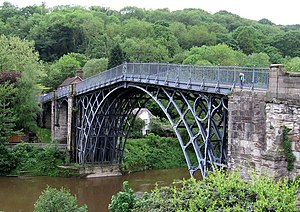 English: The Ironbridge
