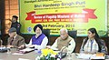 The Minister of State for Housing and Urban Affairs (IC), Shri Hardeep Singh Puri at a meeting to review the implementation of urban schemes in Punjab, Haryana and Chandigarh, at Chandigarh.jpg