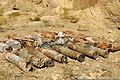 The New Zealand Provincial Reconstruction Team and the U.S. military's Bamiyan Embedded Training Team recovered this weapons cache that included seven 107mm rockets, six mortar rounds and 18 boxes of 12 100830-A-QJ189-001.jpg