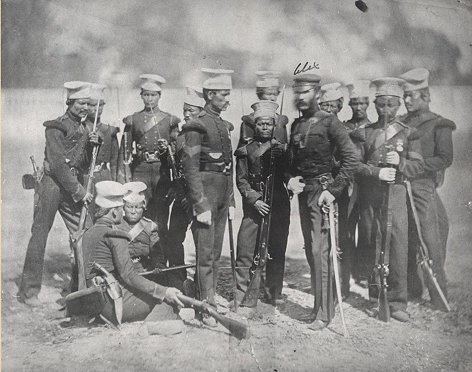 The Nusseree Battalion