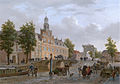 The Old Women and Children Home at the Spui, The Hague, by B J van Hove.jpg