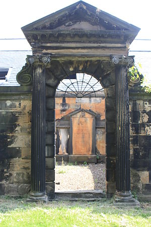 Archibald Pitcairne - The Pitcairne vault within the Covenanter's Prison, Greyfriars Kirkyard