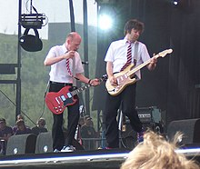 The Presidents performing live in 2005