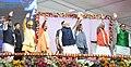 The Prime Minister, Shri Narendra Modi at the inauguration of the various development projects, in Varanasi, Uttar Pradesh.JPG