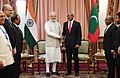 The Prime Minister, Shri Narendra Modi meeting the President of Maldives, Mr. Ibrahim Mohamed Solih, in Male, Maldives on November 17, 2018 (1).JPG