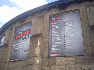 Apple Music Festival - Image: The Roundhouse