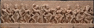 Matrikas - Image: The Seven Mother Goddesses (Matrikas) Flanked by Shiva (left) and Ganesha (right)