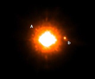 GQ Lupi b extrasolar planet