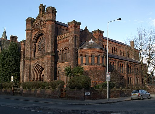 The Synagogue of the Liverpool Old Hebrew Congregation - geograph.org.uk - 1703408 crop