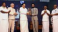 The Vice President, Shri M. Venkaiah Naidu giving away Magudam Awards constituted by News18 Tamil Nadu, for the best and the brightest from Tamil Nadu in various fields, in Chennai (2).jpg