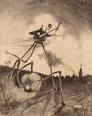 The War of the Worlds by Henrique Alvim Corrêa, orginal graphic 12