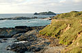 The foreshore and lighthouse at Godrevy - geograph.org.uk - 1545322.jpg