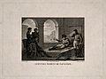 The last moments of Napoleon Bonaparte at St Helena, 1821. E Wellcome V0006900.jpg