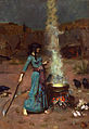 The magic circle, by John William Waterhouse.jpg