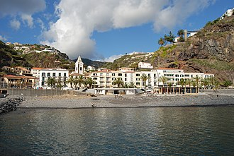 Ponta do Sol, Madeira - The seafront margin of Ponta do Sol