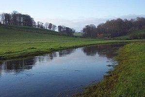 River Leach - Upper Leach near Eastleach Turville