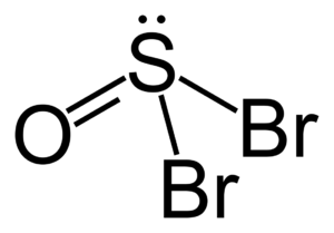 Thionyl bromide - Image: Thionyl bromide